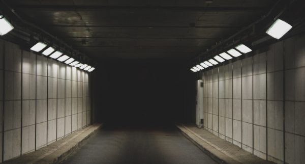 There's no light at the end of the debt tunnel.